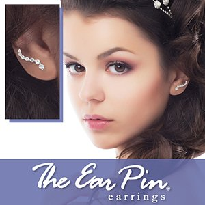 The Ear Pin Earrings by Orogem